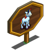Rainbow Unicorn Foal Mastery Sign-icon