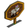 Swiss Cow Mastery Sign-icon