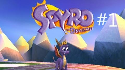 Spyro the Dragon Walkthrough Part 1 Artisan's Home & Stone Hill
