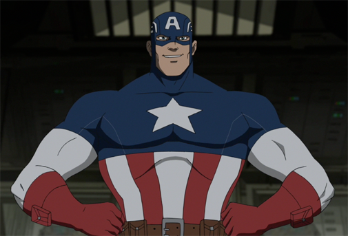 Captain America Cartoon Images: Ultimate Spider-Man Animated Series Wiki