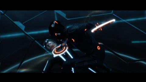 Tron Legacy (2010) - Clip Battle with Tron