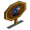 Blue Calf Mastery Sign-icon