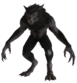 Werewolf from skyrim werewolf 20300x326