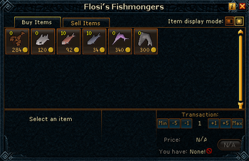 Flosi&#39;s Fishmongers stock