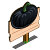 Black Pumpkin (crop) Mastery Sign-icon