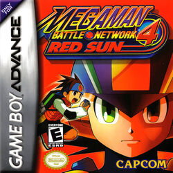Mega Man Battle Network 4 Red Sun (NA)