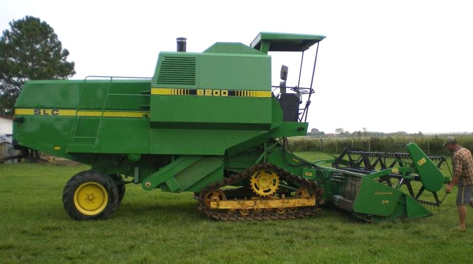 John Deere combines - Tractor & Construction Plant Wiki - The classic ...