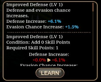 Improved Defense - Inotia 4: Assassin of Berkel Wiki