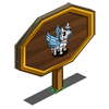 Mini Zebra Pegasus Foal Mastery Sign-icon