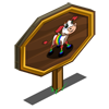 Rainbow Calf Mastery Sign-icon