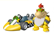Baby bowserkart