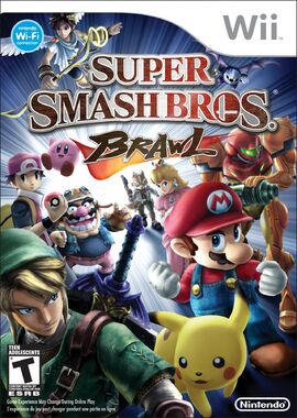 SSBB Boxart