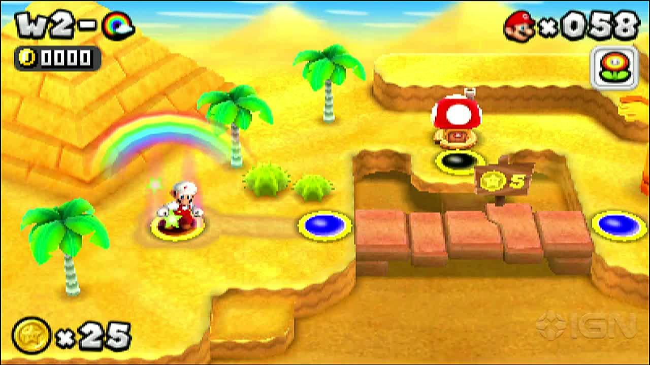 New Super Mario Bros. 2 - Rainbow Level