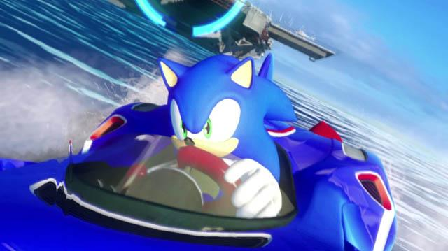 Sonic and All-Stars Racing Transformed Gameplay Trailer