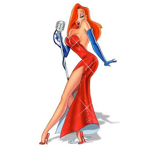 jessica rabbit background information feature films who framed roger ...