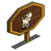 Dall Sheep Mastery Sign-icon