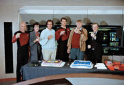 Frakes Roddenberry birthday