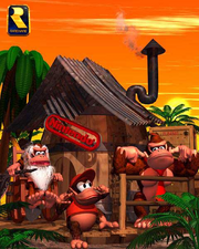 Cranky&#39;s Cabin Render (Donkey Kong Country)