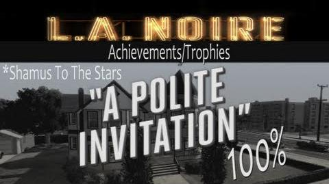 LA Noire - Walkthrough Part 16 Polite Invitation Gameplay
