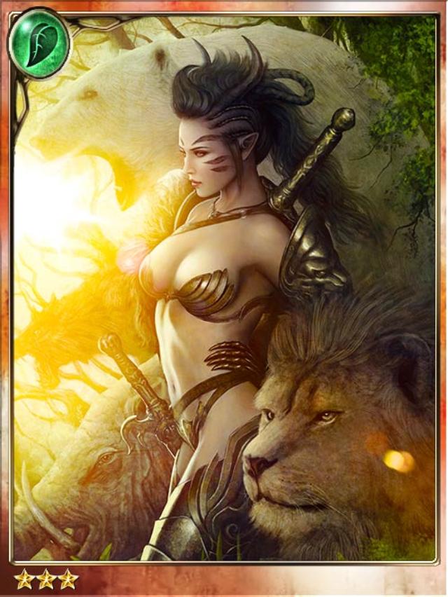 mielikki  forest huntress
