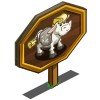Art Deco Cow Mastery Sign-icon