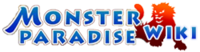 Monster paradise wiki wordmark
