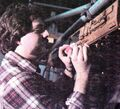 Chris Ross working on the Drydock studio model.jpg