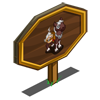 Cocoa Foal Mastery Sign-icon