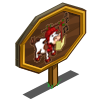 Caroling Cow Mastery Sign-icon