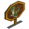 Dilophosaurus Mastery Sign-icon
