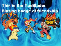 Blader badge of friendship