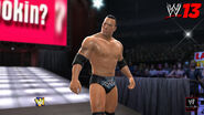 The rock wwe 13