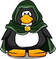 Green Hooden Cloak