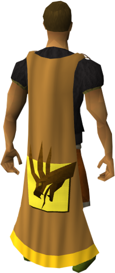 Chocatrice cape equipped