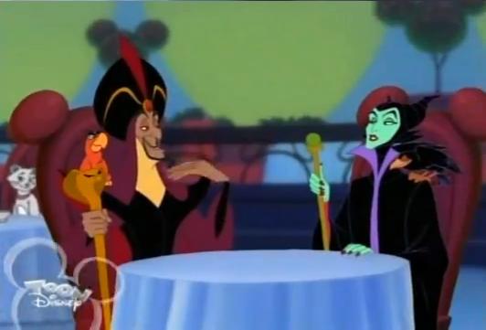 Descendants [Disney Channel - 2015] Jafar,Maleficent