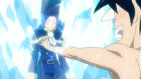 Gray grabs Juvia&#39;s breast