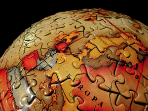 Puzzle globe-1