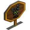 Batwing Horse Mastery Sign-icon