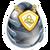 Huevo del Dragón Metal Puro