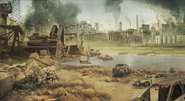 TAS Concept Art Wartorn City MW2