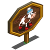 Plush Cow Mastery Sign-icon