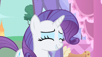 Rarity can't hold it S1E20