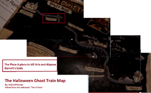 Halloween Ghost Train Map