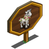 Hibiscus Unicorn Foal Mastery Sign-icon