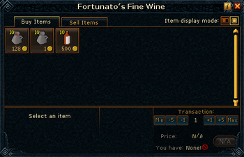 Fortunato's Fine Wine stock