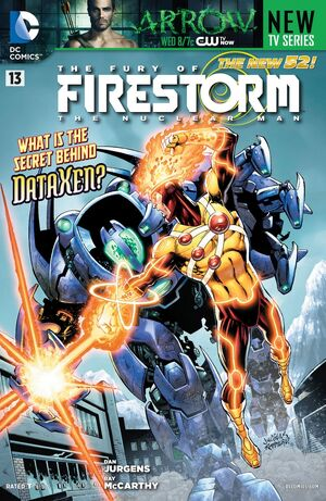 Cover for Fury of Firestorm #13