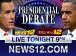 News 12 New Jersey's Vote 2012, Presidential Debate Video Promo For Wednesday Night, October 3, 2012