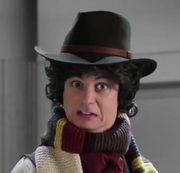 George Watsky as the 4th Doctor