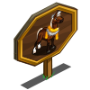 Tinsel Horse Mastery Sign-icon