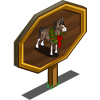Wreath Horse Mastery Sign-icon